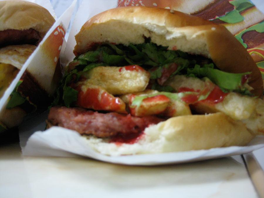 Hamburger from Markets of Lima