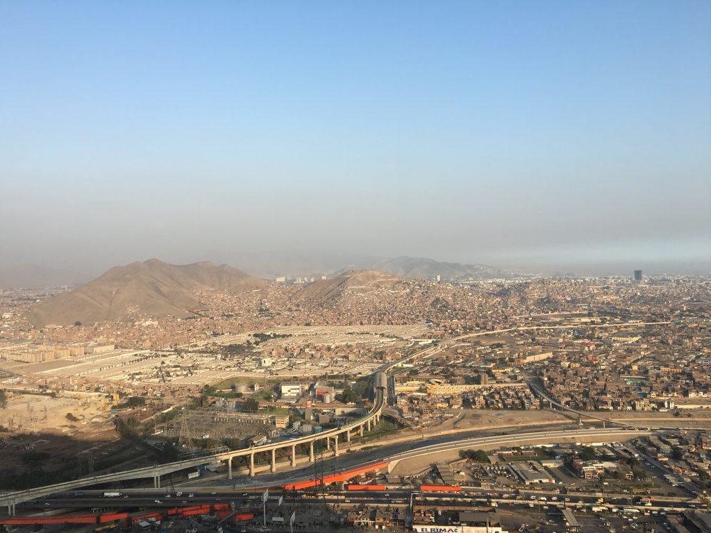 Views from Cerro San Cristobal